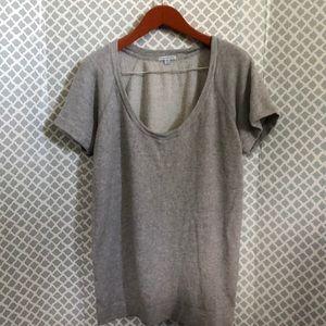 Standard James Perse oversized heather sweatshirt